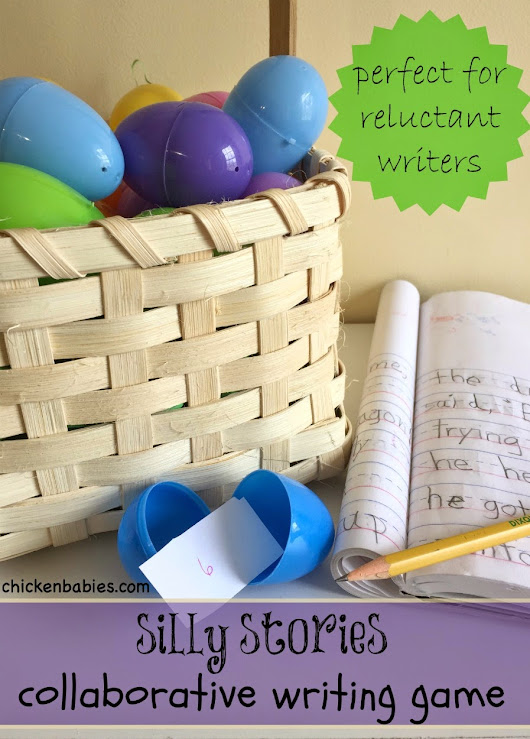 Elementary Easter Egg Writing Activity