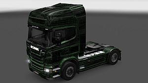 X-Ray skin for Scania R