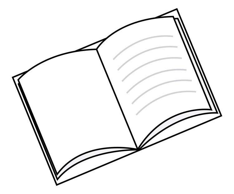 Dibujos Para Colorear De Libro Y Libreta: Disegni Da Colorare: Disegni Da Colorare; LETTURA E LIBRI