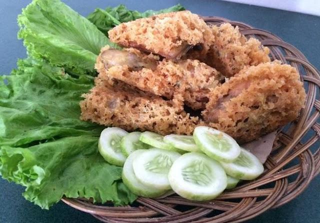 Cara masak ayam kremes rasa sayange