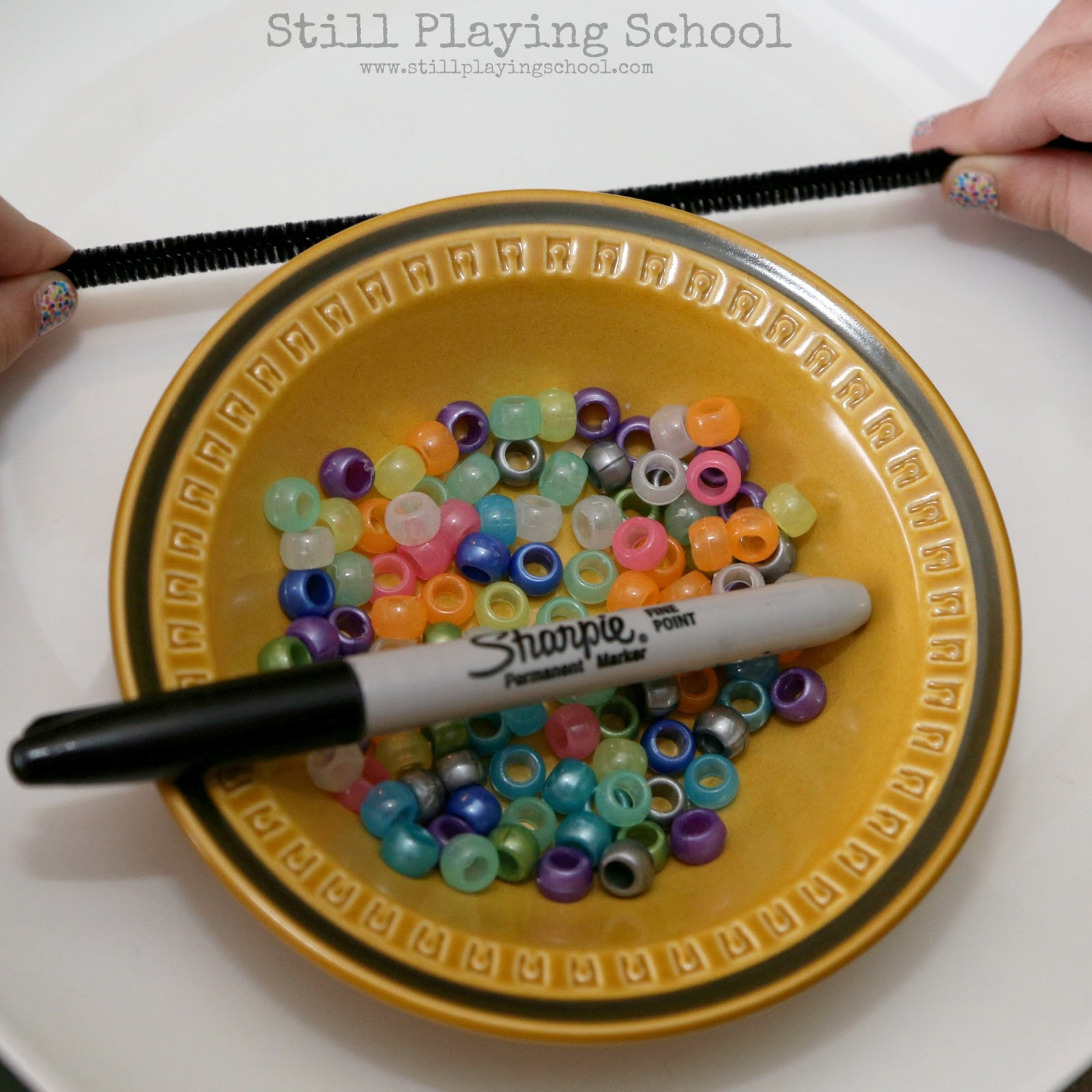 Solar System Bracelet Craft For Kids Still Playing School