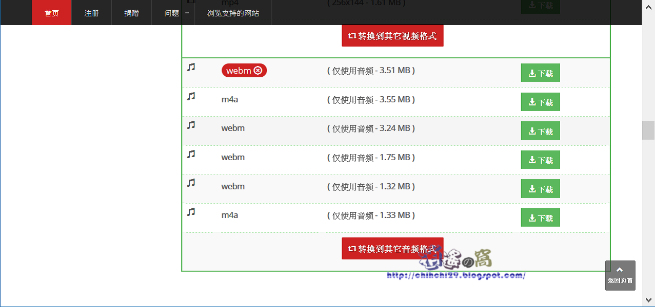 Online Downloader 網頁版下載工具