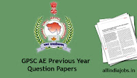GPSC AE Previous Year Question Papers