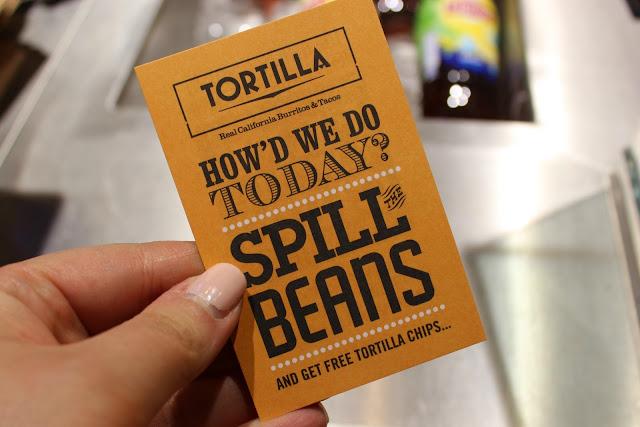 Tortilla Intu Nottingham Review