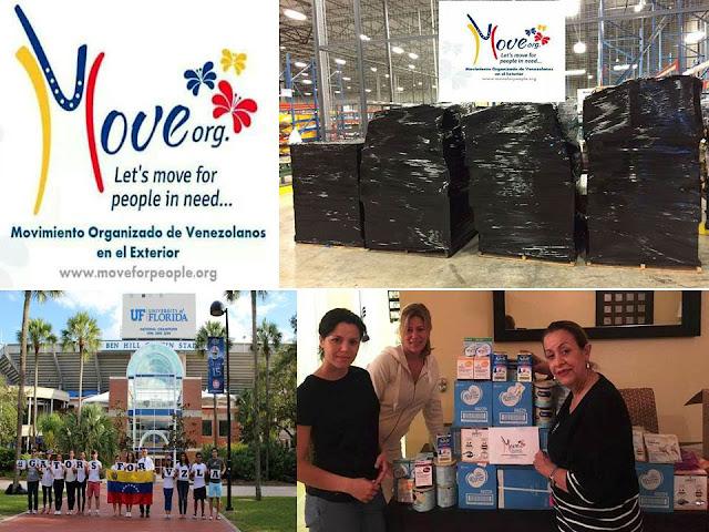 Colabora con pagos de envíos y donativos a Move Org Miami desde los EE.UU.