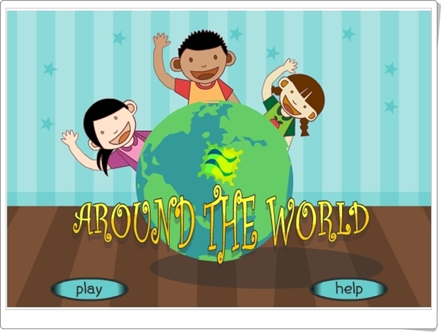 """Around the world"" (Juego de Multiplicación de Primaria)"