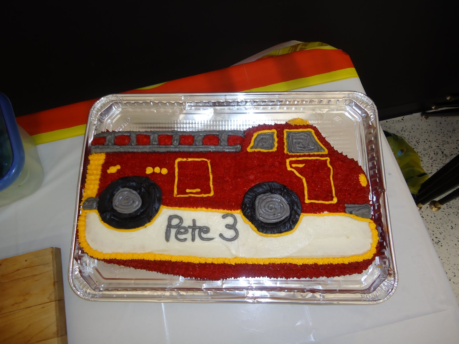 Our Ridiculously Happy Life Fireman Birthday Party