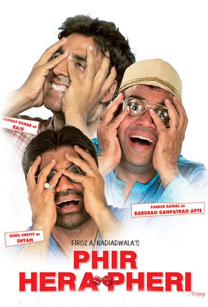 Hera Pheri (2000) Movie Poster