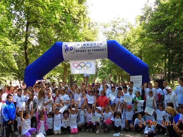 Olympic Day la Craiova
