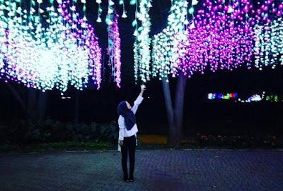 Taman Lampu Sindu Kusuma Edupark Sleman Yogyakarta