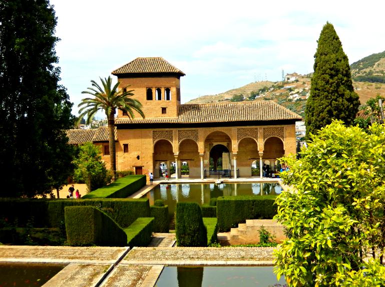 Outside Nasrid Palace