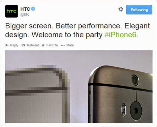 HTC ONE M8 - IPHONE 6