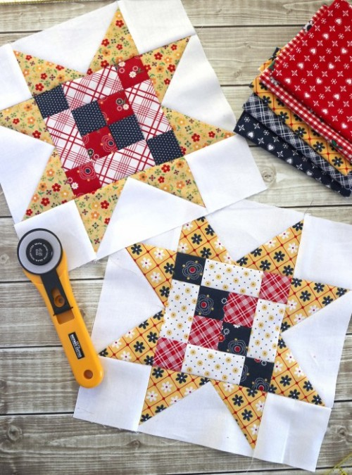 Meet the Makers Quilt Block - Tutorial