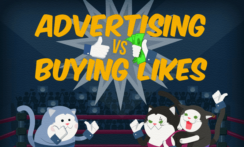 The Naked Truth About Buying Spam Facebook Followers and Likes - #infographic