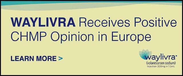 EMA pareri pozitive medicament Waylivra