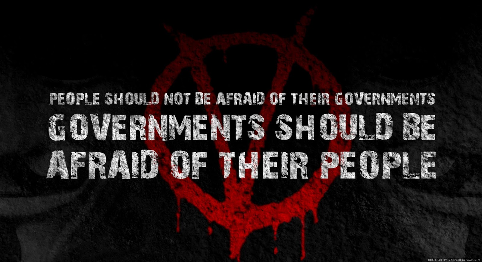 V For Vendetta Quotes Hd Wallpapers Plus
