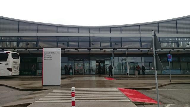 Flughafen Memmingen - Eingangsbereich