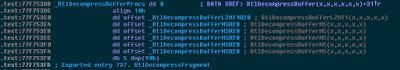 RtlDecompresBuffer vulnerability