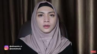 ''Mendapat Hidayah saat Ramadhan Donita Mantap Berhijab''