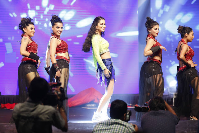 Sunny Leone Exclusive Hot Stills at Rogue Audio Launch
