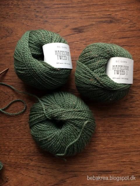 BC Garn, Hamelton Tweed 1, Garn, wool, uld, yarn