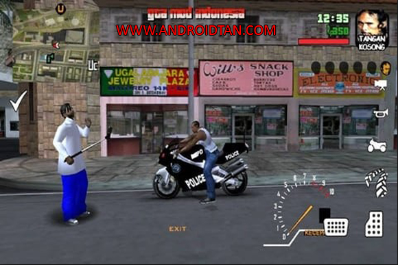 GTA SA Mod GTA Extreme Indonesia Apk + Data Full