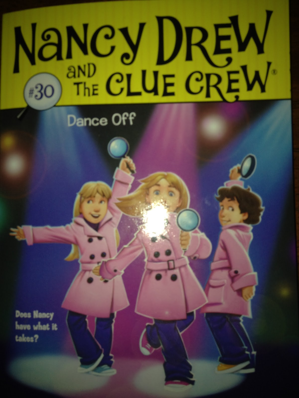 Dance Off (Nancy Drew and the Clue Crew Book 30)