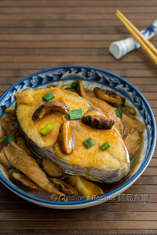 雙菇蠔汁鮫魚【啖啖肉+好味汁】Pan-fried Mackerel with Mushroom Sauce
