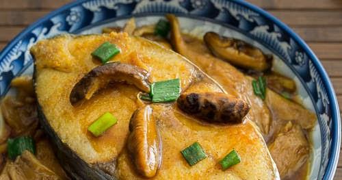 雙菇蠔汁鮫魚【啖啖肉+好味汁】Pan-fried Mackerel with Mushroom Sauce | 簡易食譜 - 基絲汀: 中西各式家常菜譜