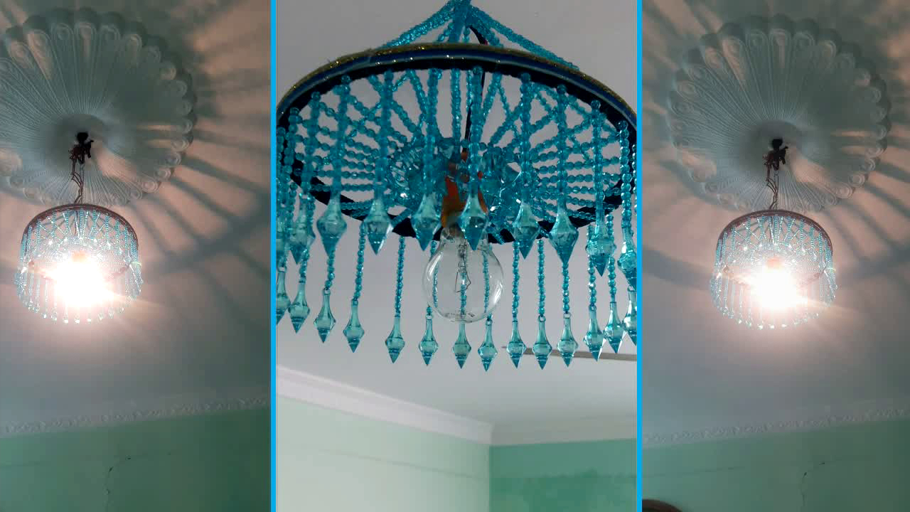 Home Decorating Ideas How To Make Jhumar Chandelier Wall Hanging