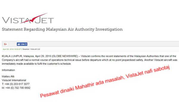 PRU14: Mahathir kata jangan undi Pakatan Harapan [Video]
