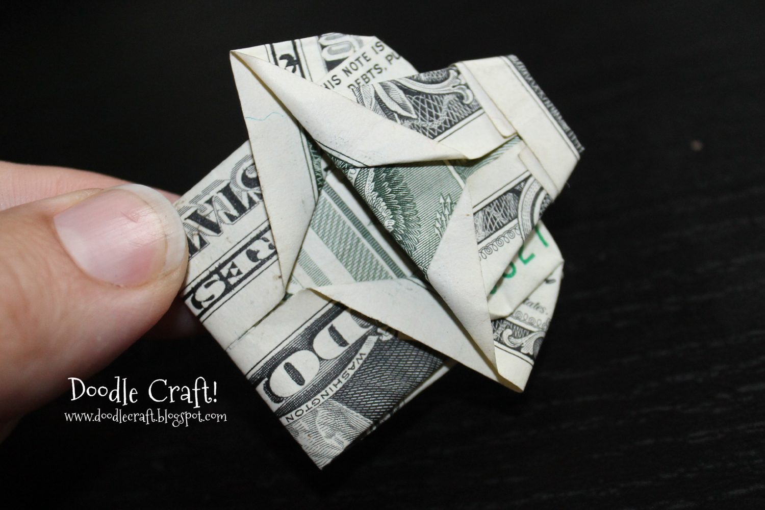 Doodlecraft: Origami Money folding: Shirt and Tie! - photo#1