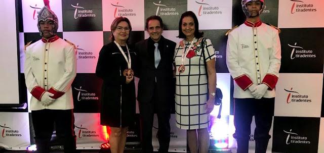 Em Recife, Prefeita Maria José e secretária de Educação de Fronteiras são homenageadas por gestão eficiente