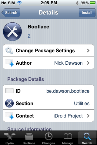 Cydia Unlocks: How To Install Bootlace on iOS | Android iPhone