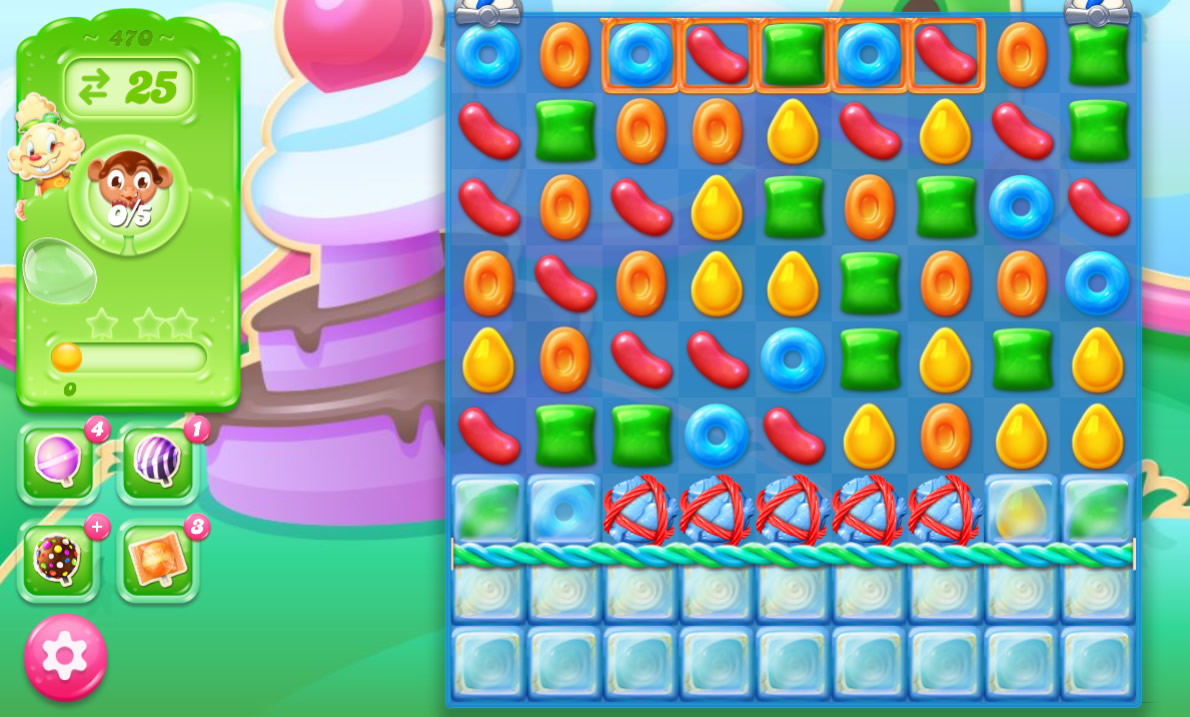Candy Crush Jelly Saga 470