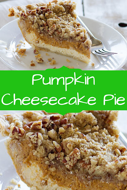 Pumpkin Cheesecake Pie  #PumpkinReceipes  #PumpkinCheesecakeReceipes  #CheesecakePieReceipes