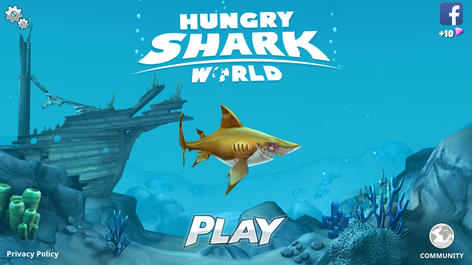 iphone ipad ios apps and games daily iphone game today iphone game of the day is hungry shark world