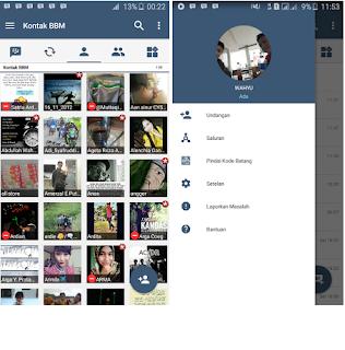 BBM MOD X Style v3.1.0.13 Apk Terbaru 2016