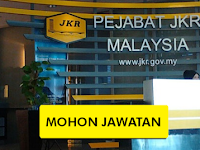 Jawatan Kosong di Jabatan Kerja Raya JKR - Permohonan Terbuka