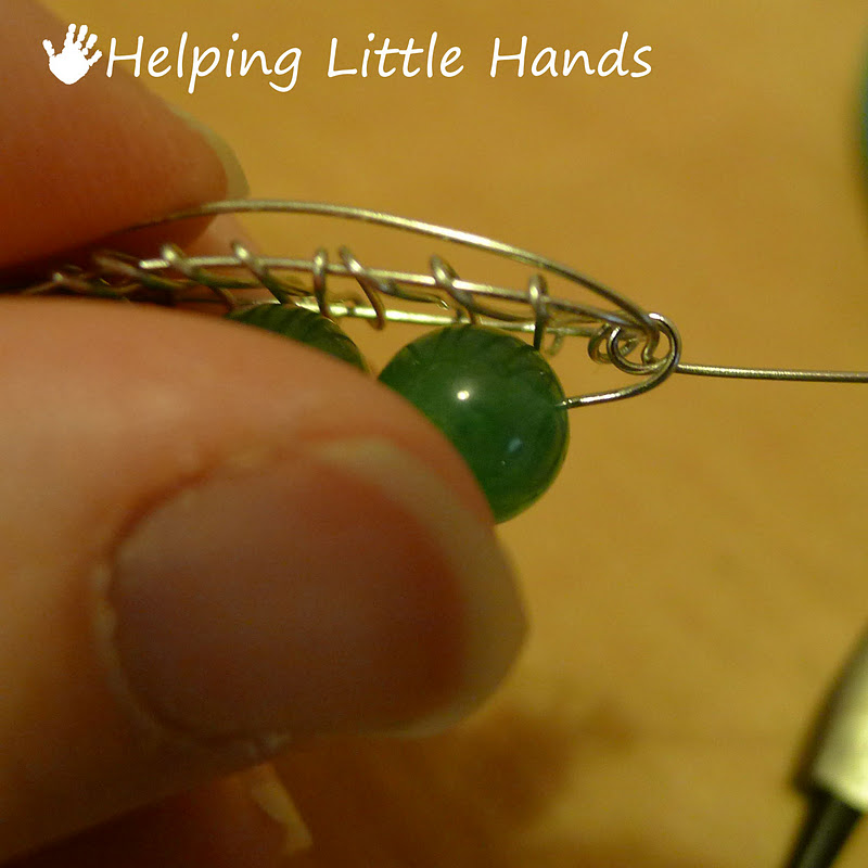 Stem And Loop Example: Pieces By Polly: Peas In A Pod Pendant Tutorial