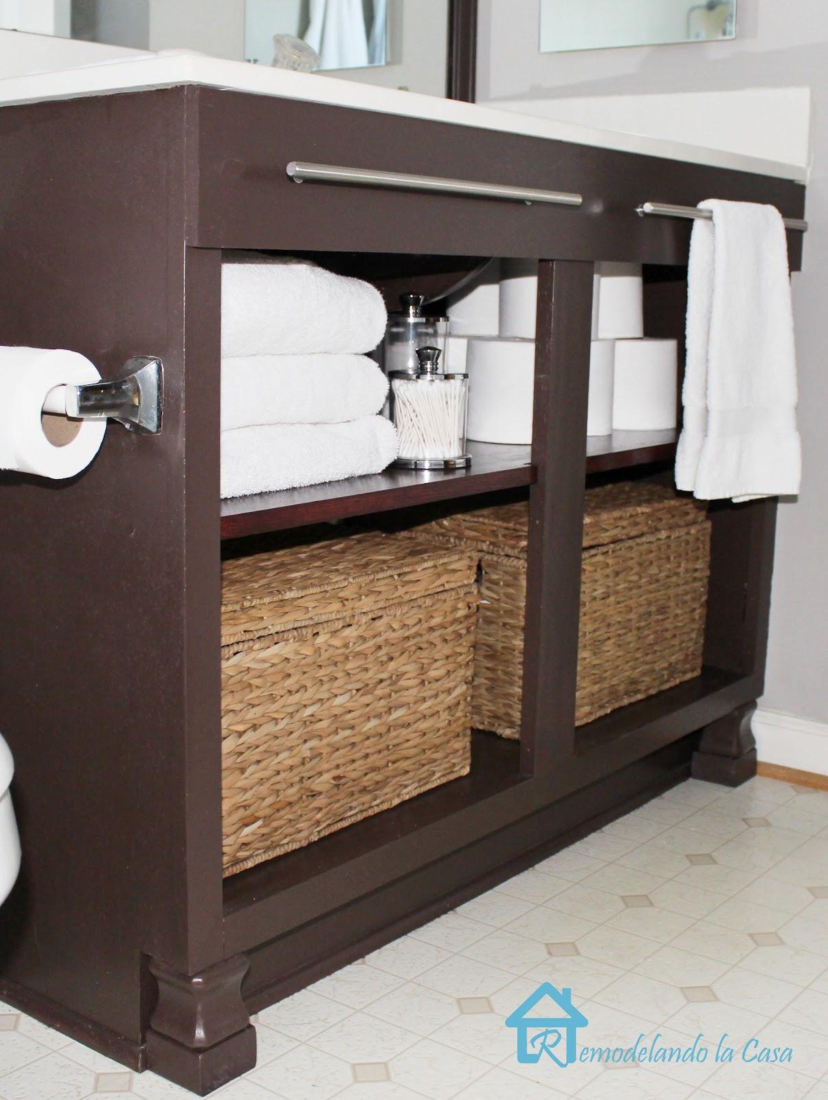 Homemade Kitchen Sink Cabinets