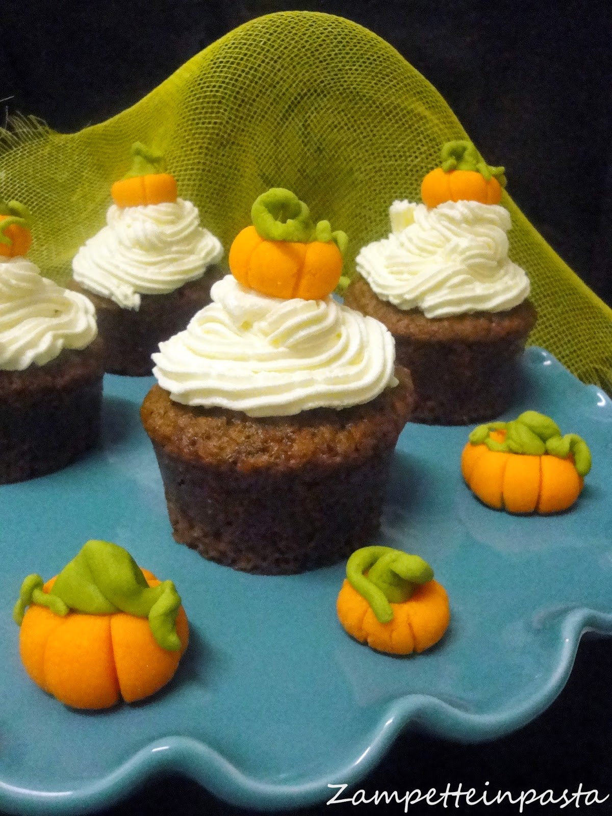 Muffin alla panna e Nutella - Ricetta Halloween