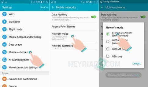 Cara Mengubah Jaringan 3G ke 4G di Samsung J5