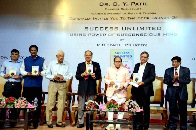 "News : R. D. Tyagi, Former Police Commissioner, Launches His Book ""Success Unlimited"""