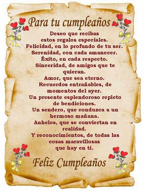 Tarjetas de Feliz Cumpleaños - ツ Tarjetas de Feliz Cumpleaños ツ