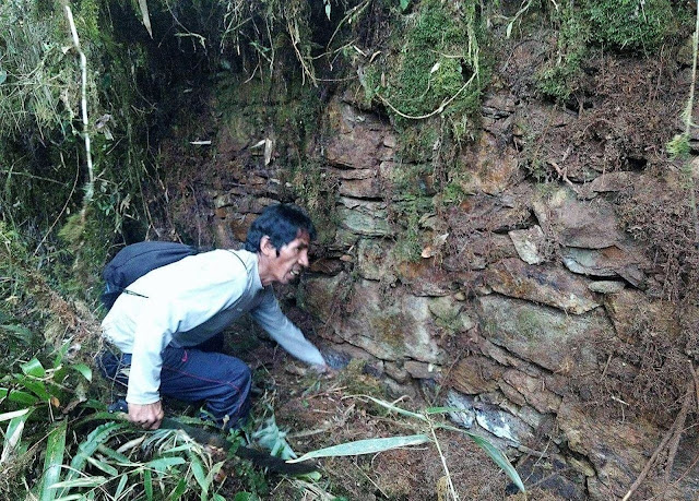 Inca citadel remains found in Cusco