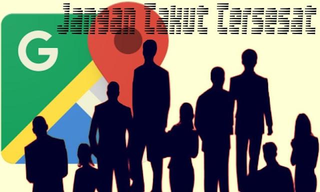 Jangan Takut Tersesat - Google Maps dan Warga Sekitar 'Stay On' Menunjukkan Arah Pada Kita