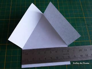 Bulles de Plume - DIY Pot béton triangle