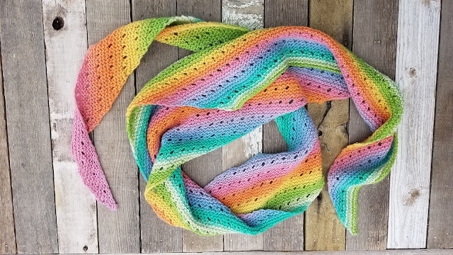 Be Simple Variations | The Unicorn Scarf by The Crafty Taco