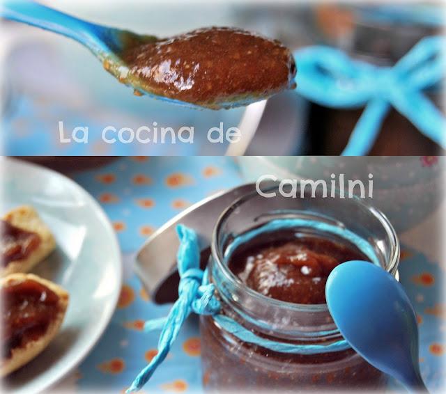 Mermelada de berenjenas con melocotón (La cocina de Camilni)